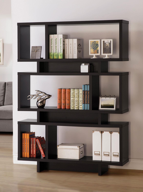 Coaster 801405 Bookcase - Cappuccino