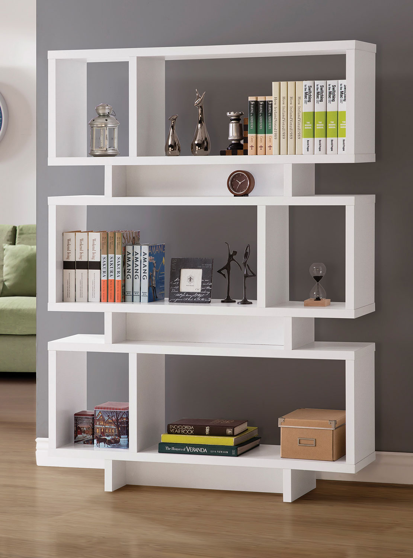 Coaster 801406 Bookcase - White
