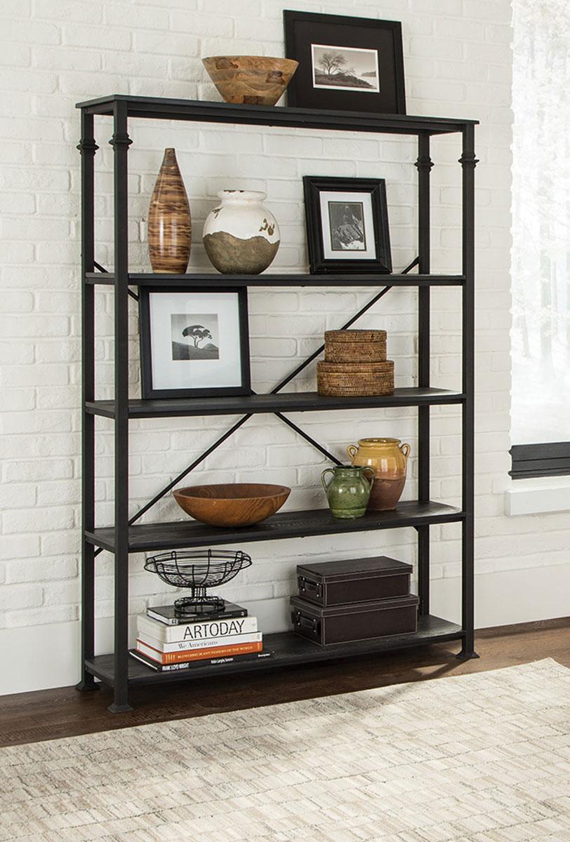 Coaster 801439 Single Bookcase - Dark Grey