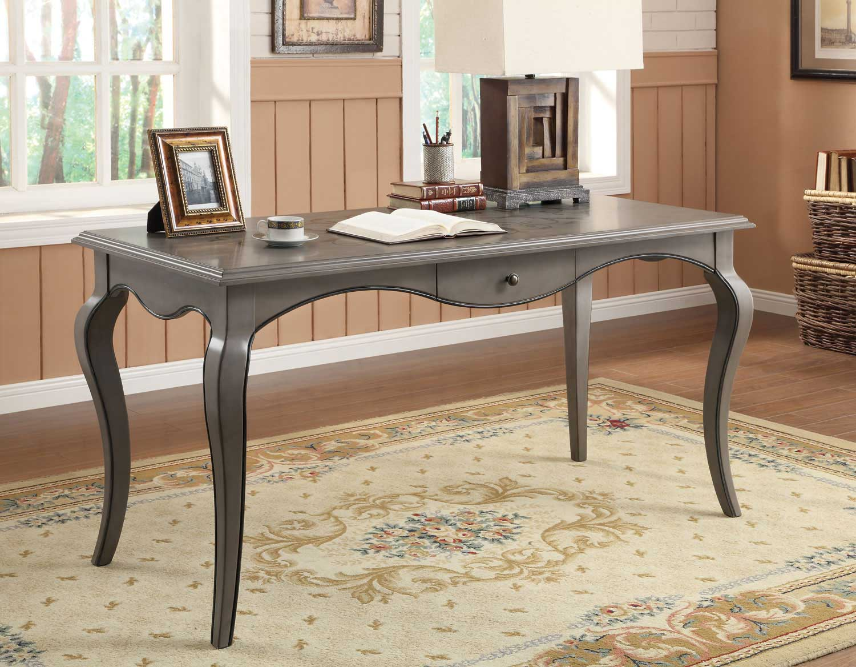 Coaster 801512 Writing Desk Grey Small