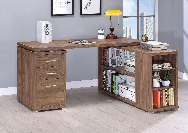 Coaster Yvette Office Desk - Elm