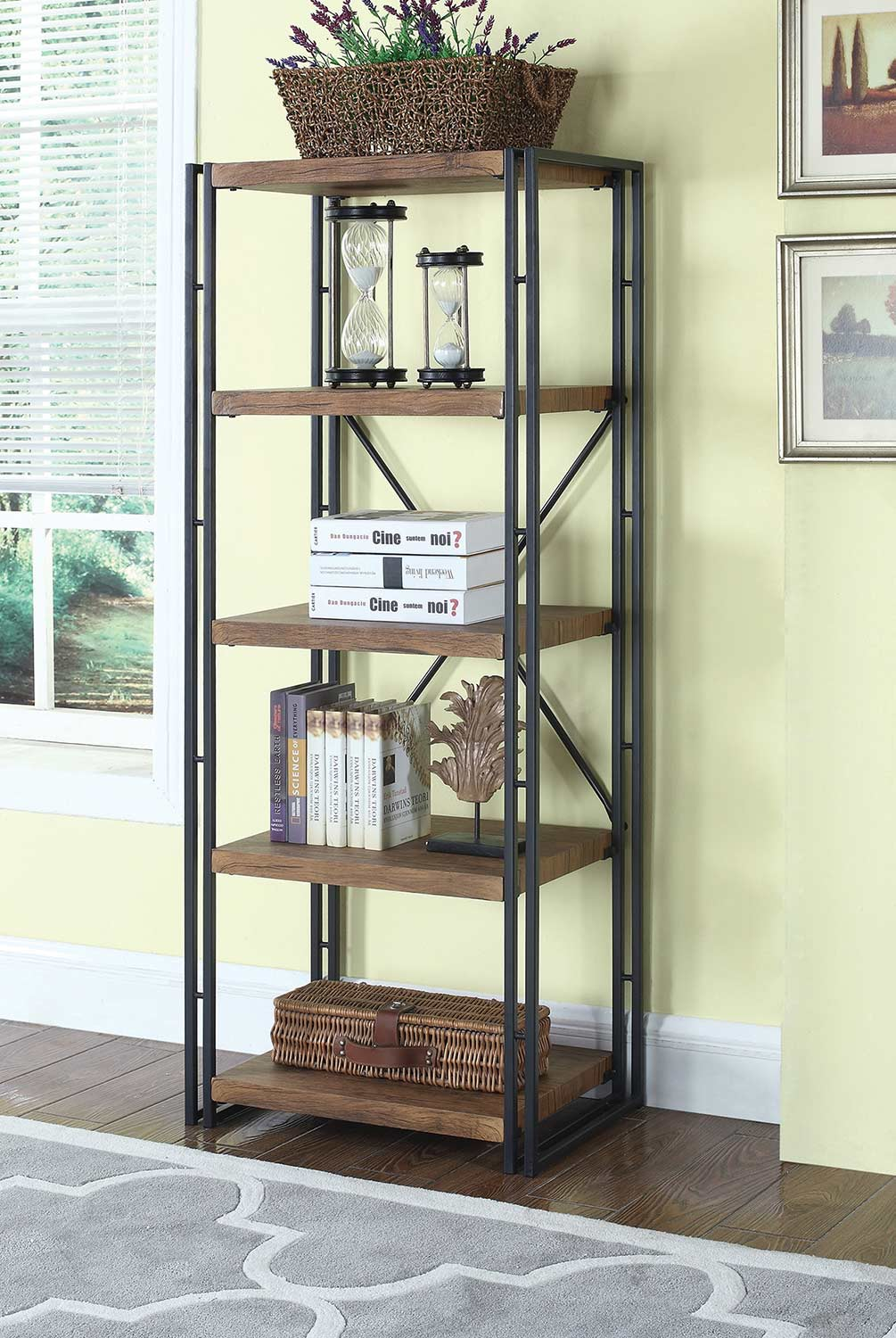 Coaster 801742 Bookcase - Chestnut