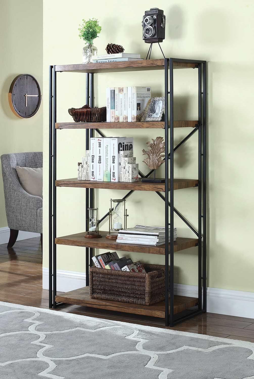 Coaster 801743 Bookcase - Chestnut