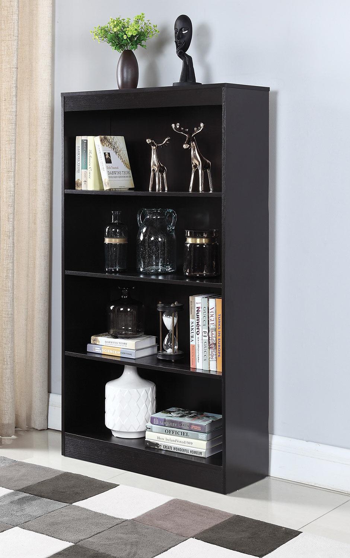 Coaster 801802 Bookcase - Cappuccino