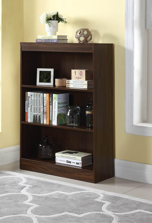 Coaster 801806 Bookcase - Dark Walnut