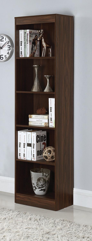 Coaster 801809 Bookcase - Dark Walnut
