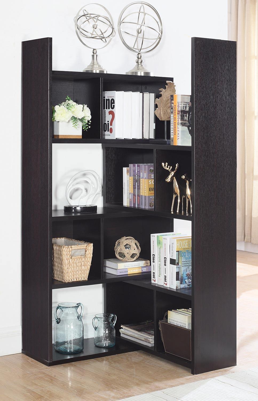 Coaster 801815 Bookcase - Cappuccino