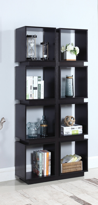 Coaster 801840 Bookcase - Cappuccino