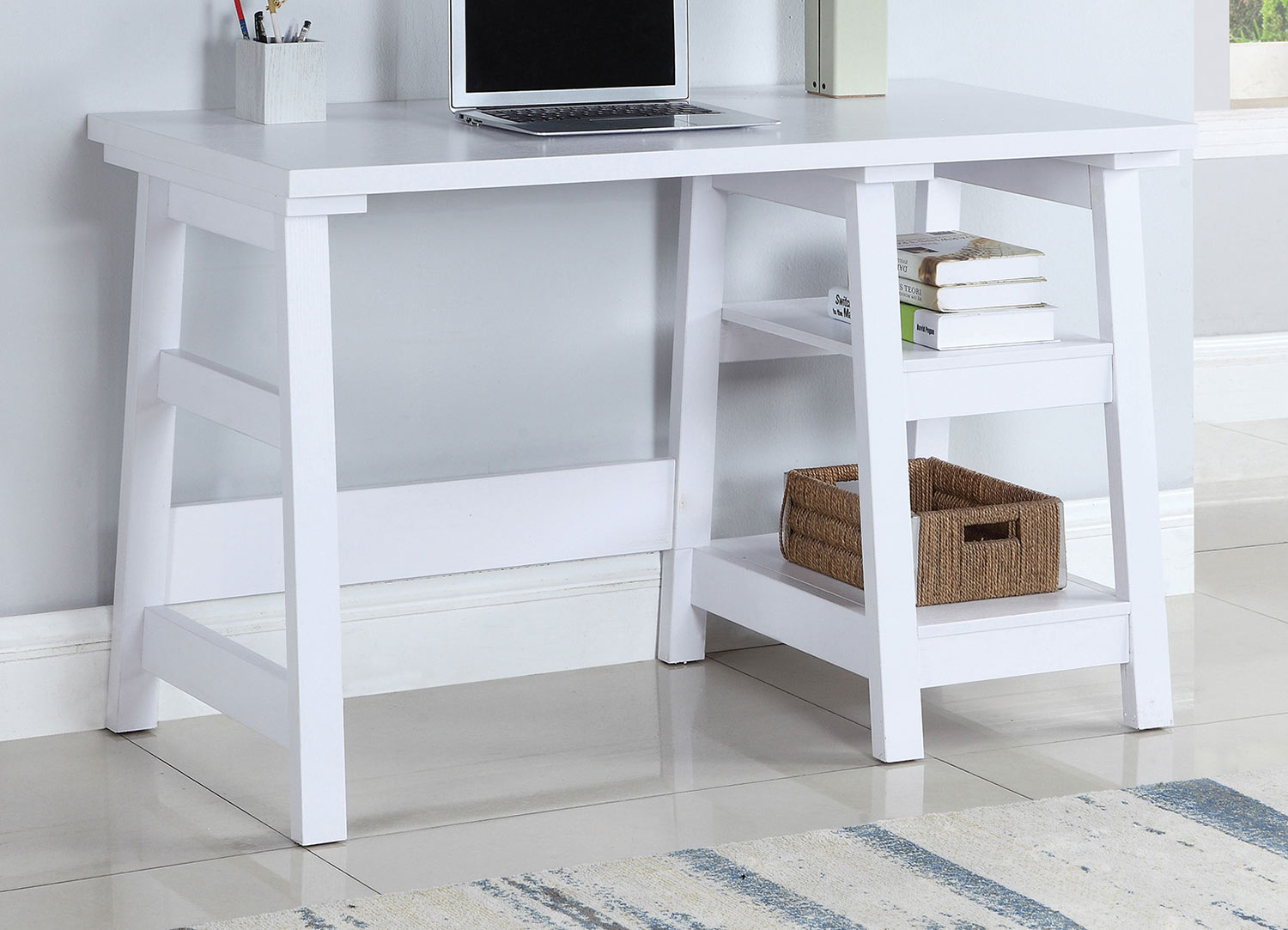 Coaster 801873 Writing Desk - White