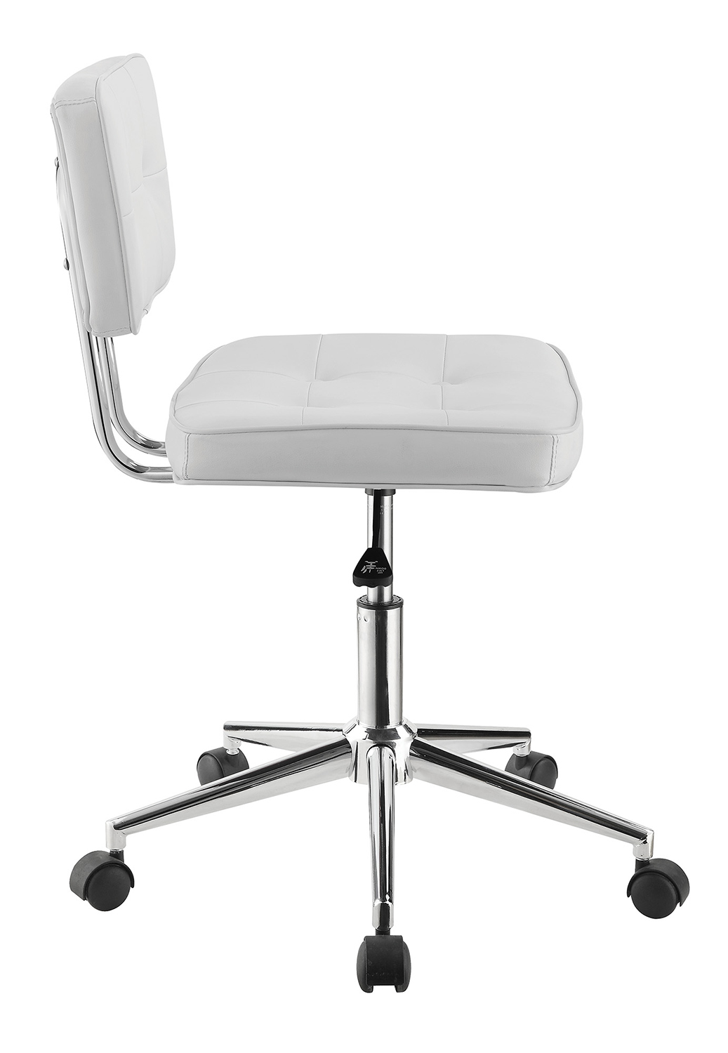 Coaster 802289 Office Chair - White/Chrome