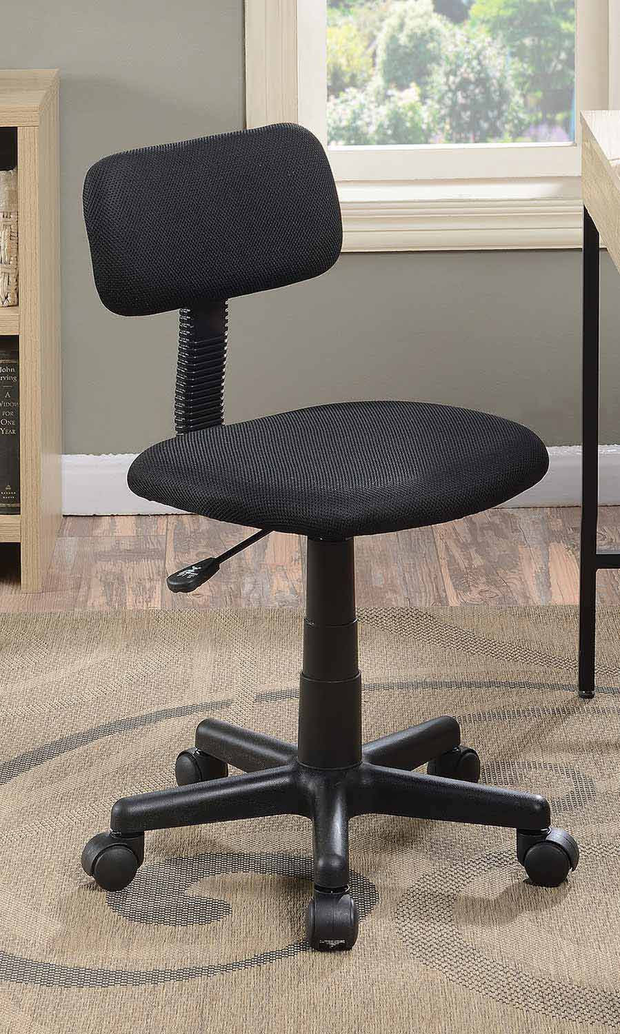 Coaster 881049 Office Chair - Black Mesh