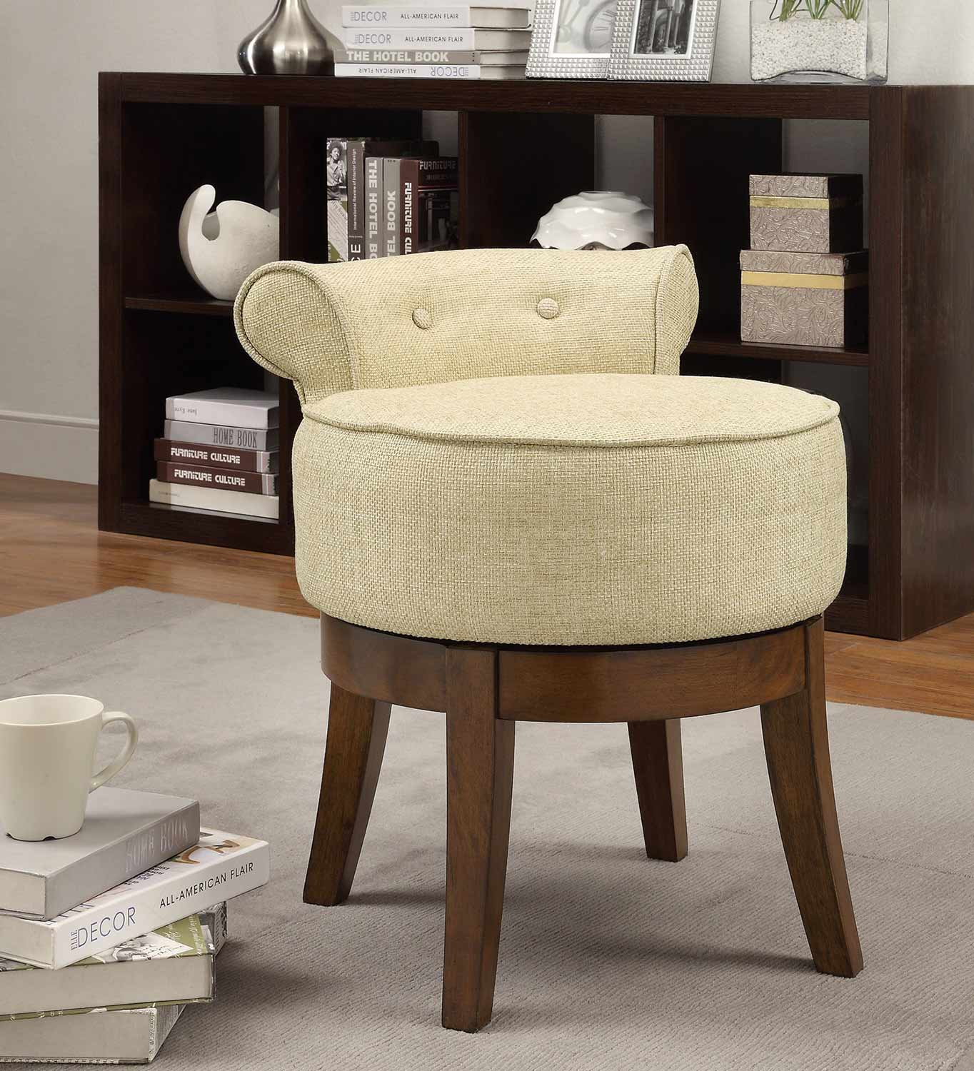 Coaster 900121 Accent Chair - Chrysanthemum Pattern