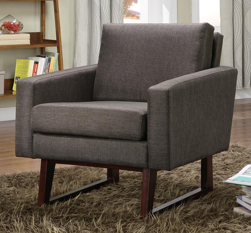 Coaster 90017X Accent Chair - Dark Brown