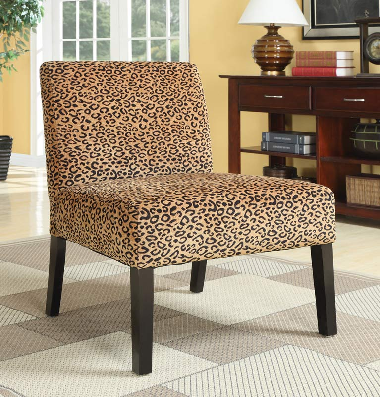 Coaster 90018X Accent Chair - Leopard