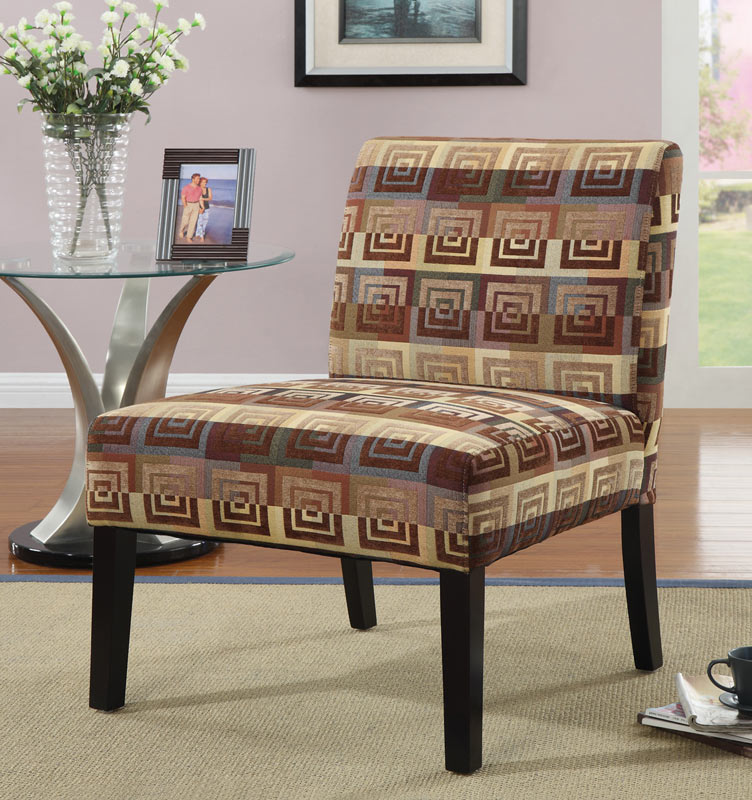 Coaster 90018X Accent Chair - Square Spiral