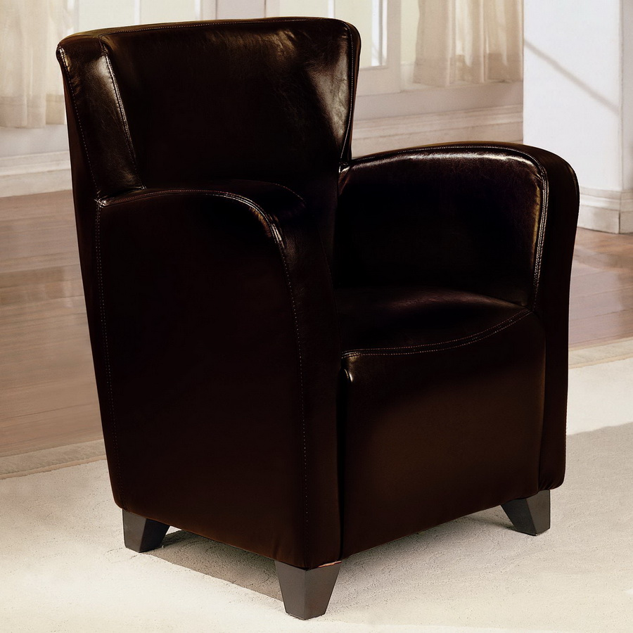 Coaster 900234 Vinyl Chair - Brown