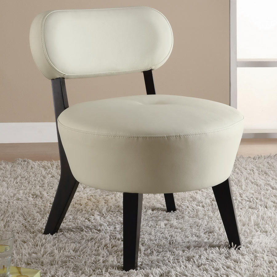 Coaster 900296 Accent Chair - Soft White