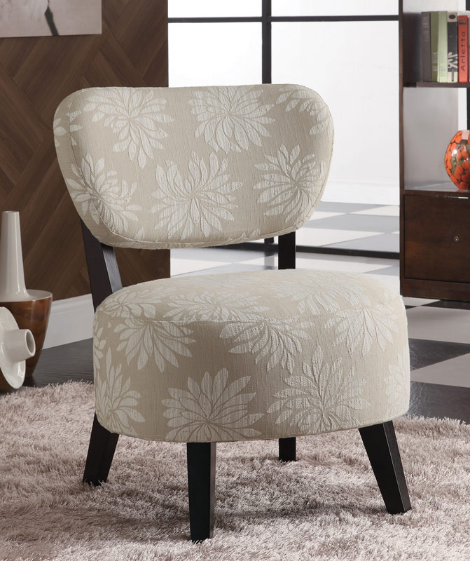 Coaster 90039X Accent Chair - Light Floral