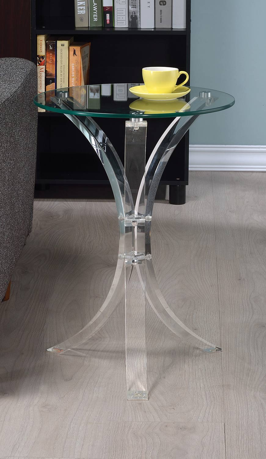 Coaster 900490 Accent Table - Clear