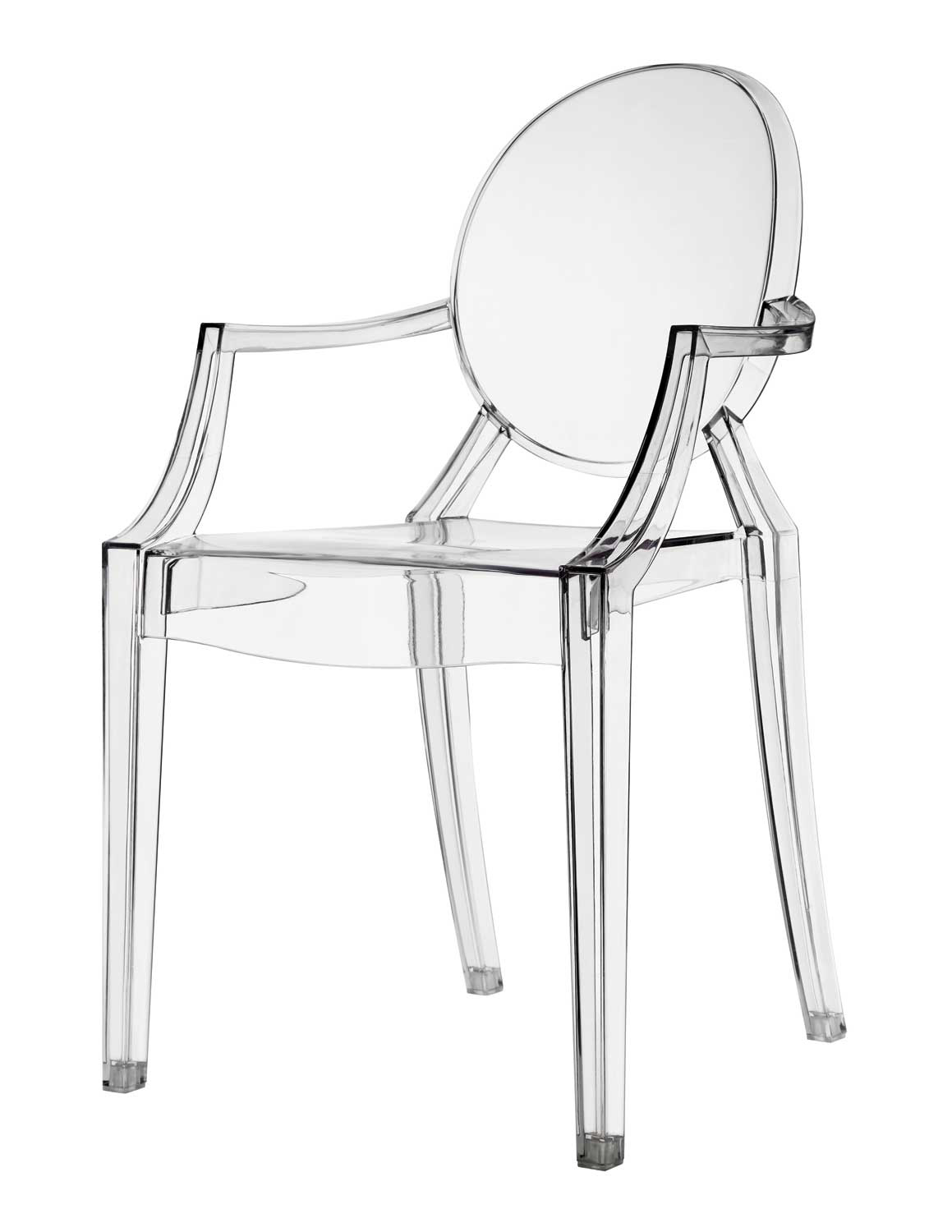 Coaster Eldridge Crystal Chair - Clear