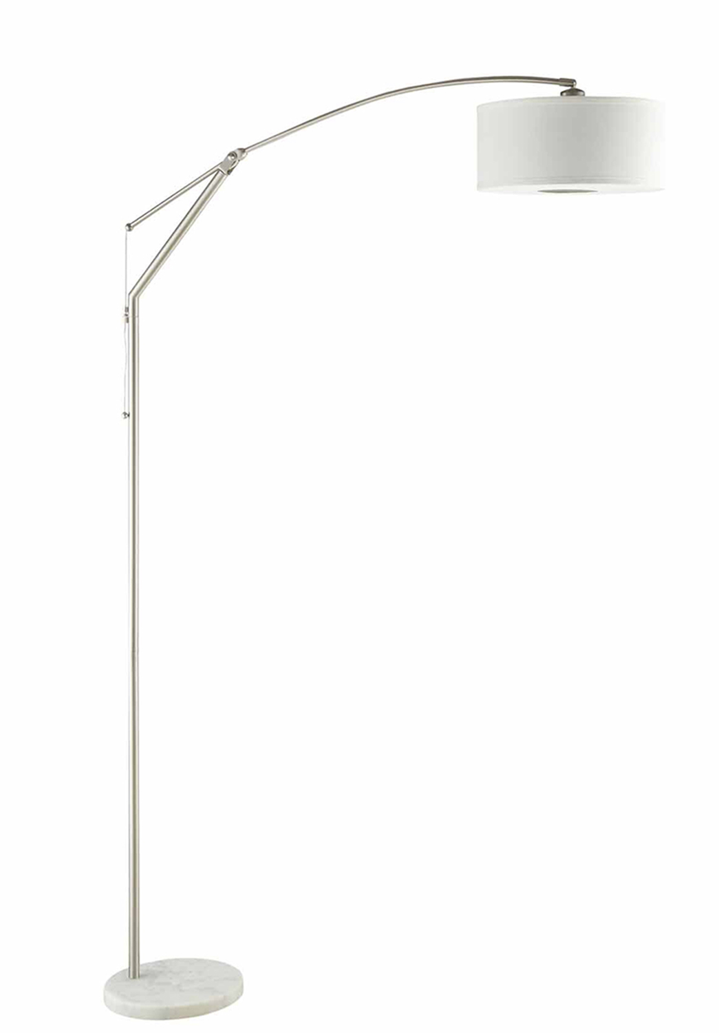 Coaster 901490 Floor Lamp - Chrome