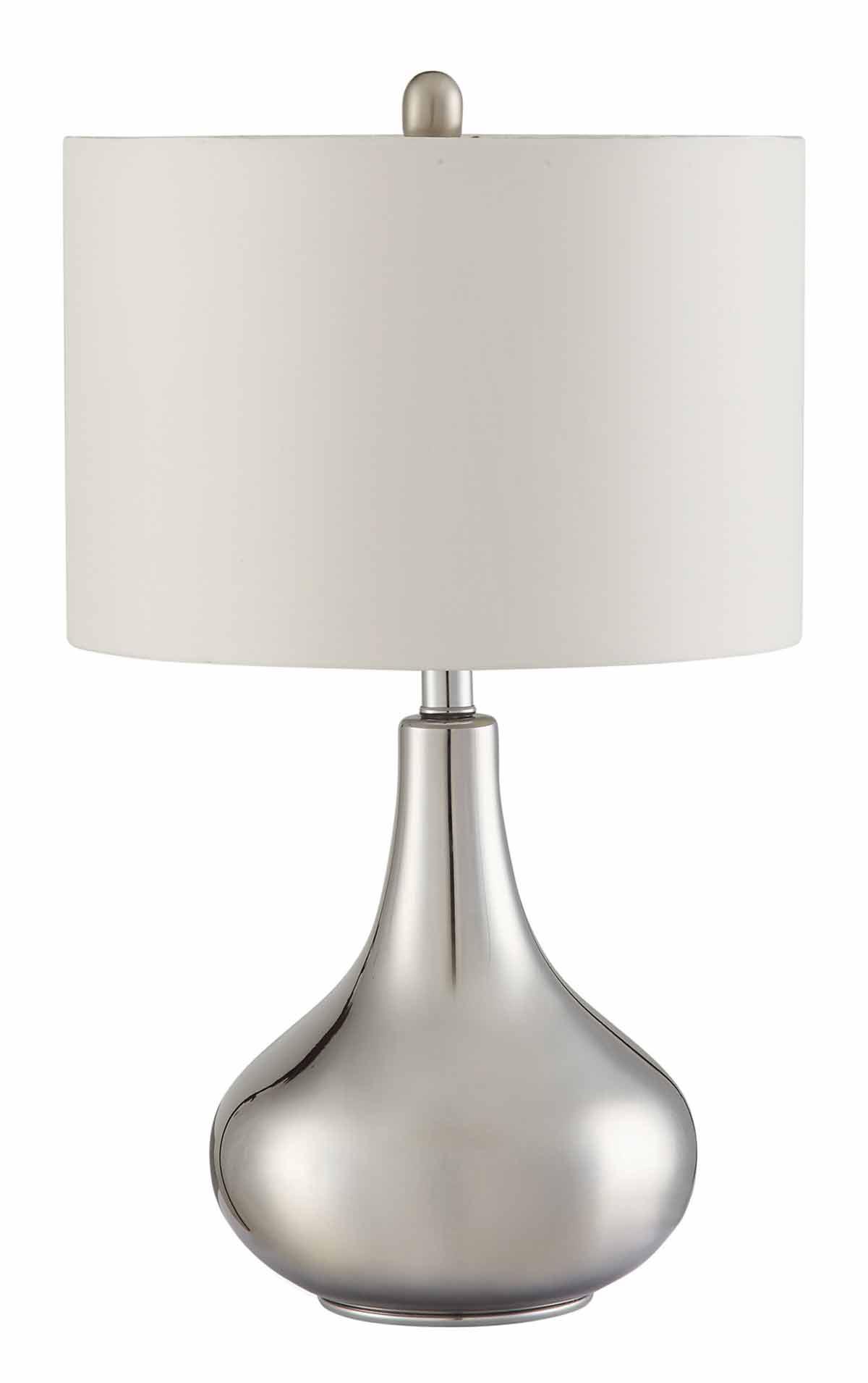 Coaster 901525 Table Lamp - Chrome