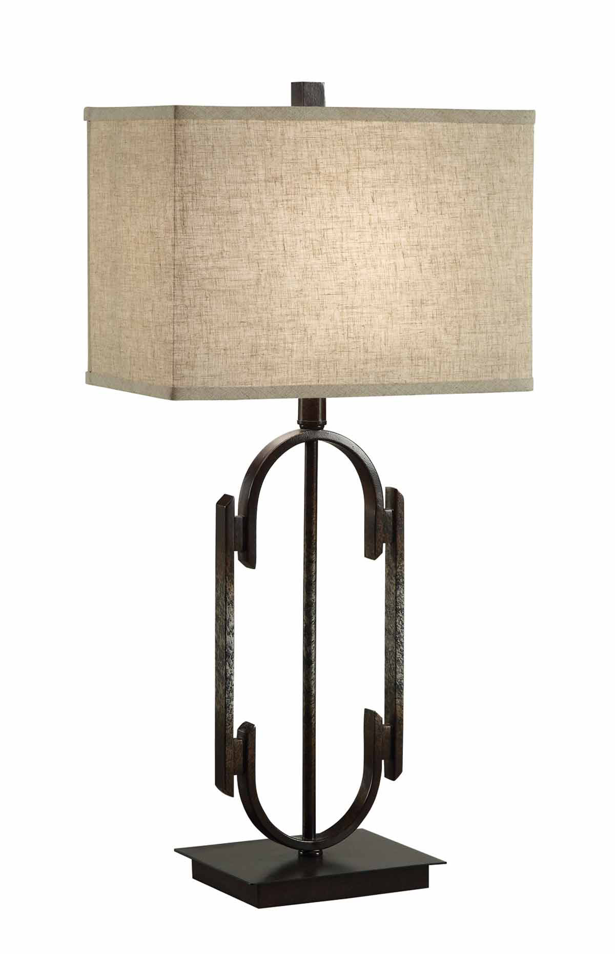 Coaster 901534 Table Lamp - Dark Bronze/Antique Silver