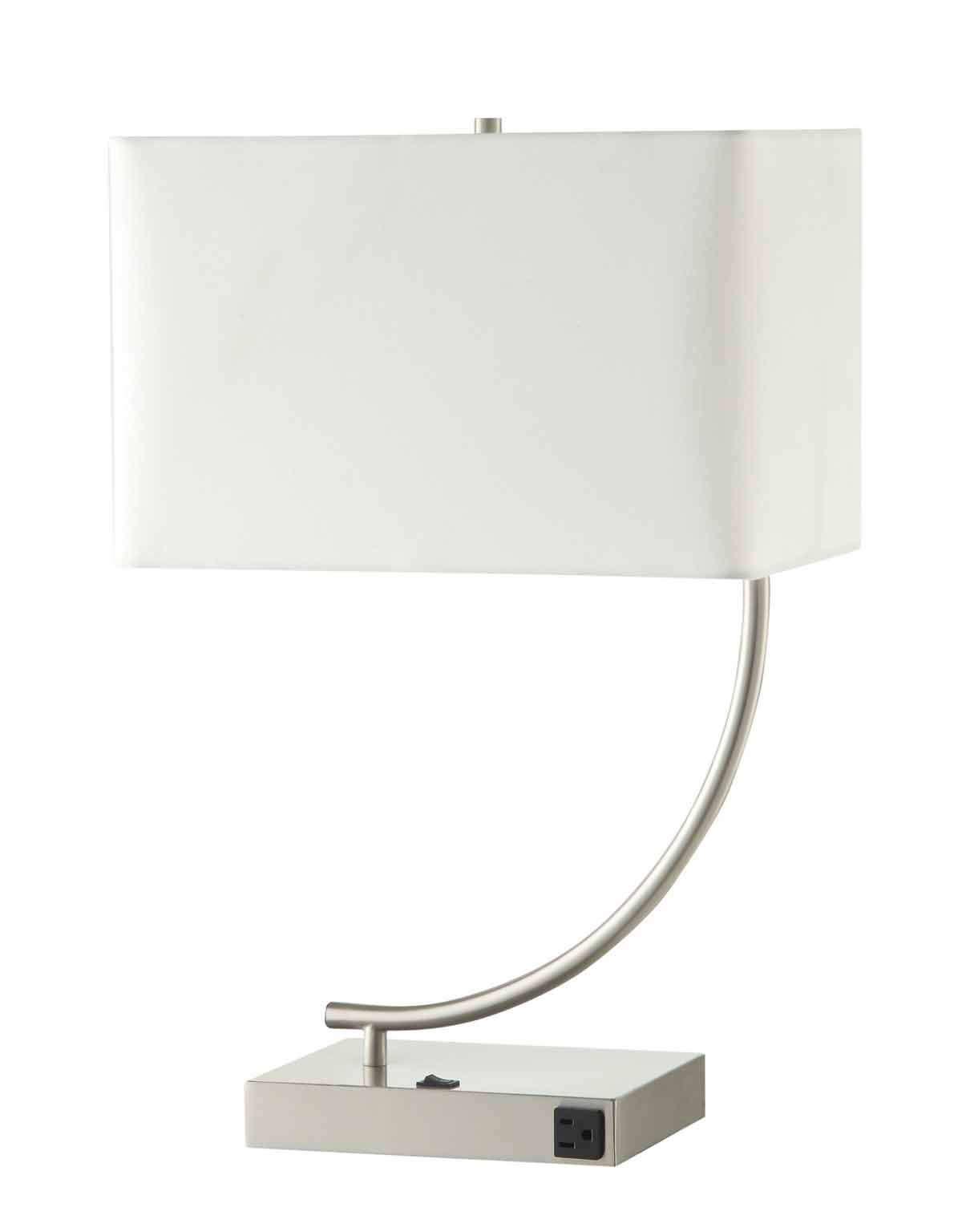 Coaster 901537 Table Lamp - Stain Nickel
