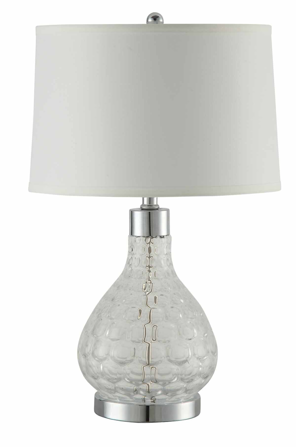 Coaster 901547 Table Lamp - Clear/Chrome