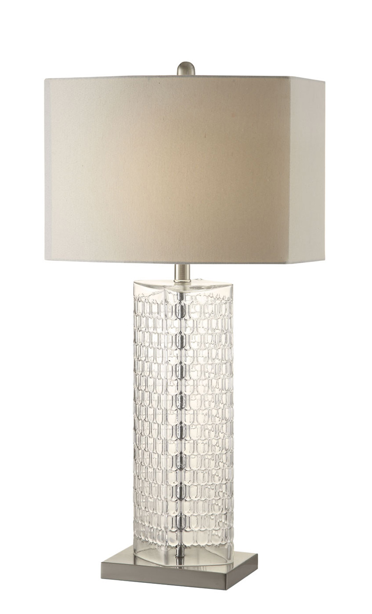 Coaster 901556 Lamp - Clear/White