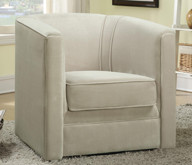 Coaster 901917 Swivel Chair - Light Tan