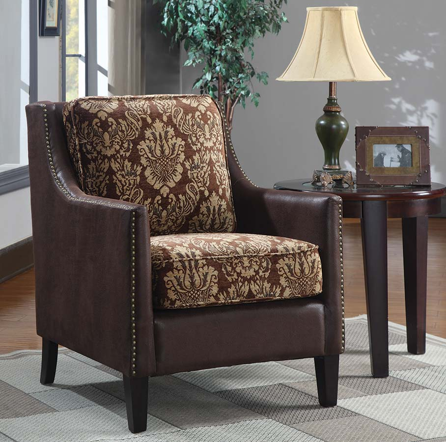 Furniture Living Room Furniture Accent Chair Tan