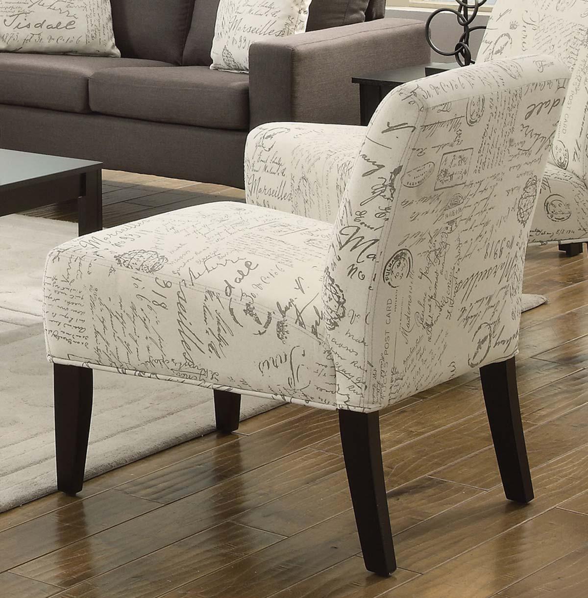 Coaster Bachman Accent Chair - Grey