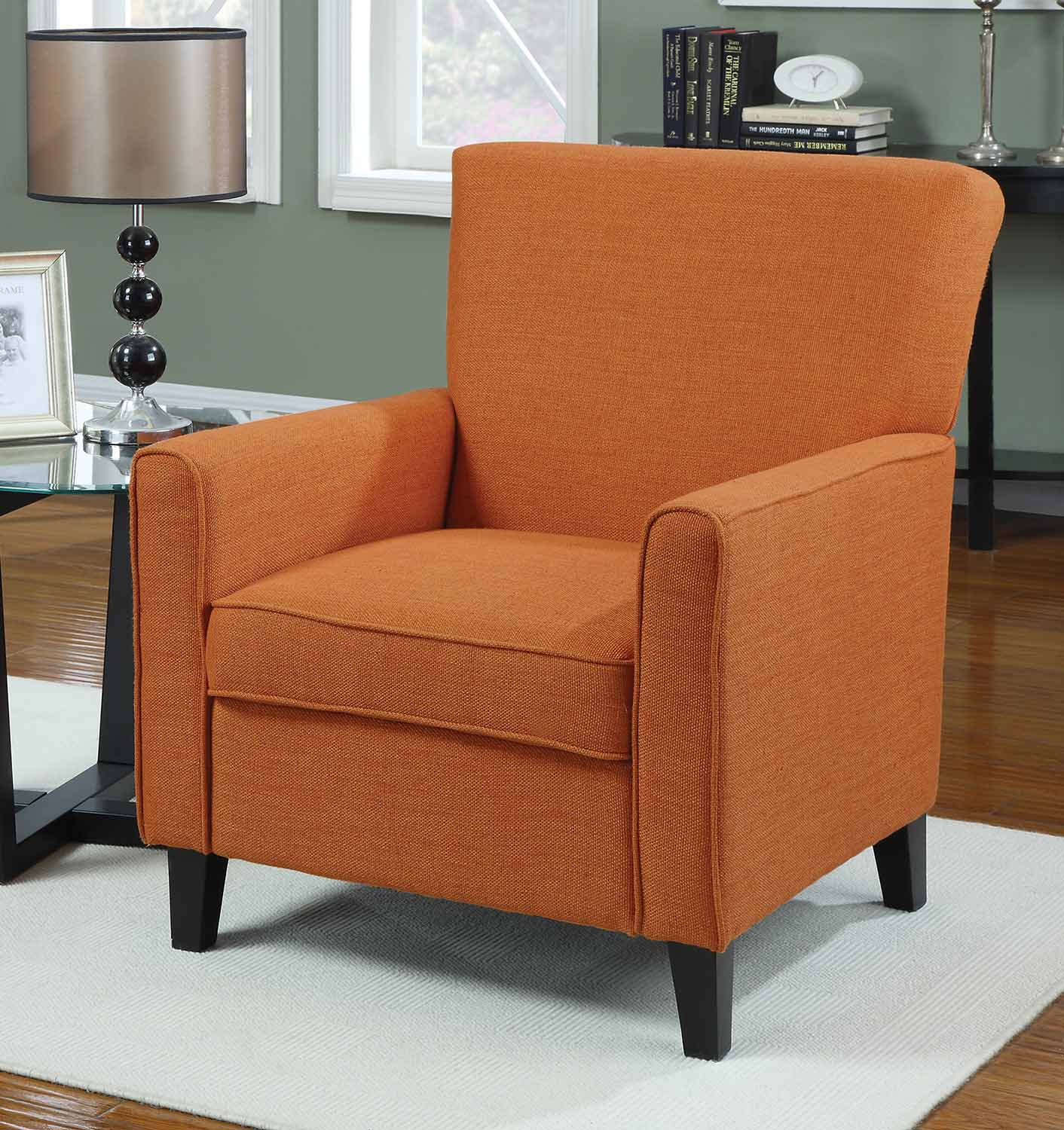 Coaster 902094 Accent Chair - Orange