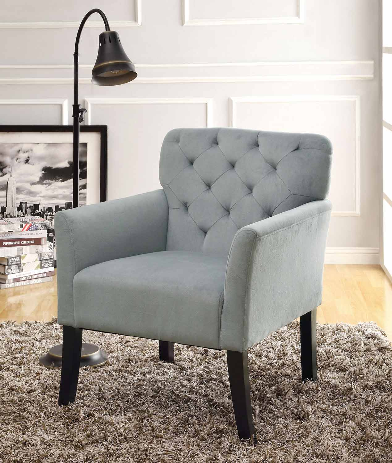 Coaster 902144 Accent Chair - Grey