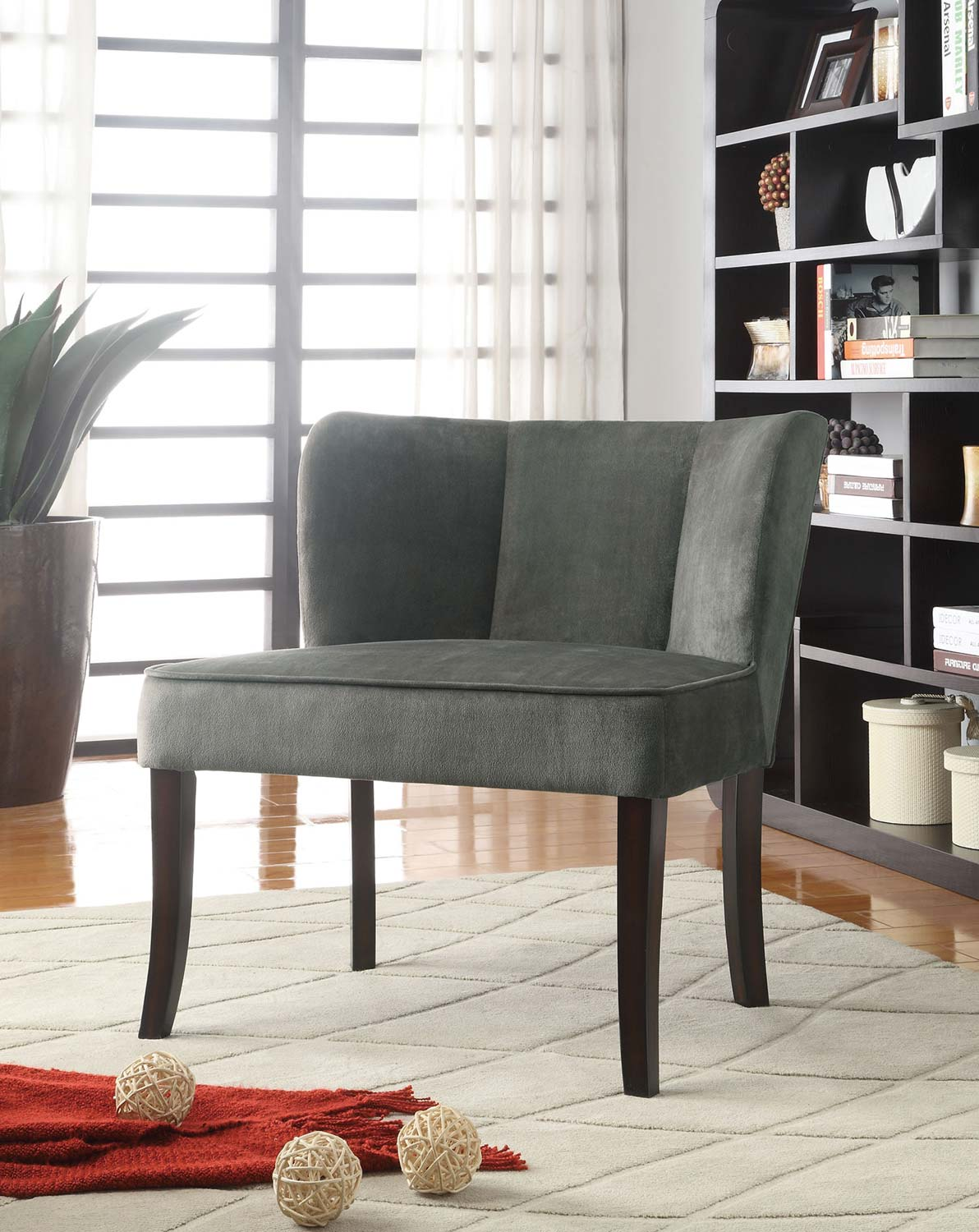 Coaster 902150 Accent Chair - Charcoal