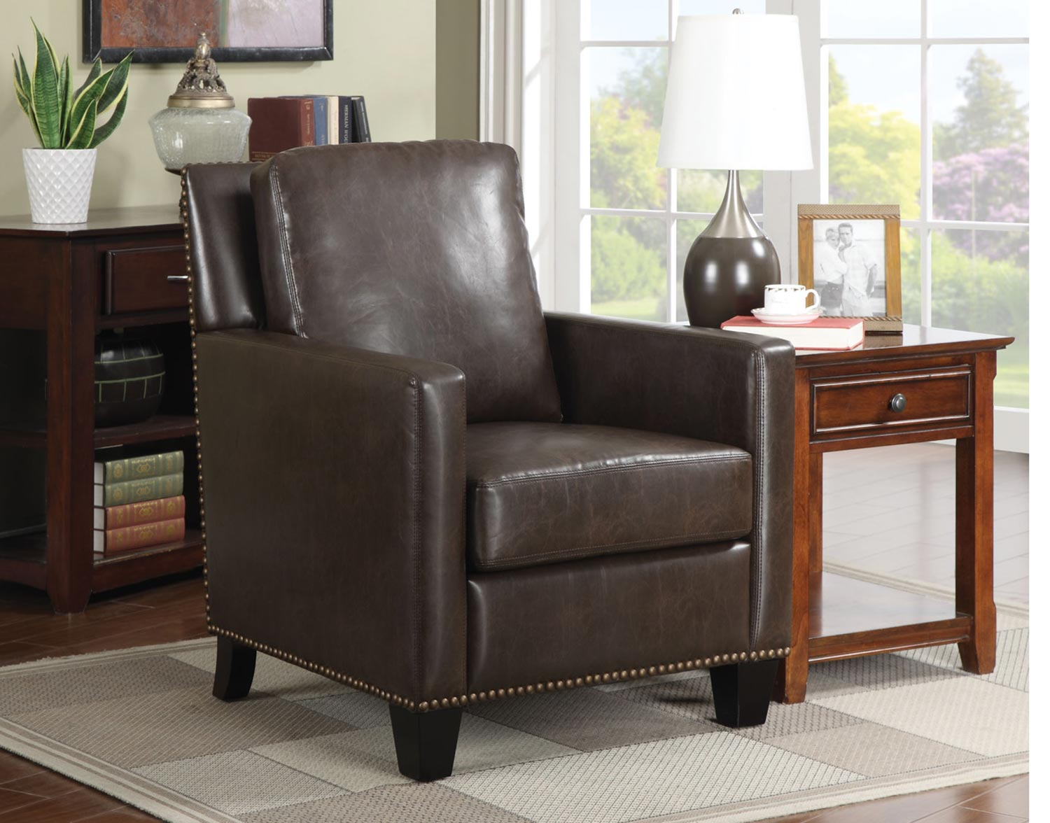 Coaster 902174 Accent Chair - Brown