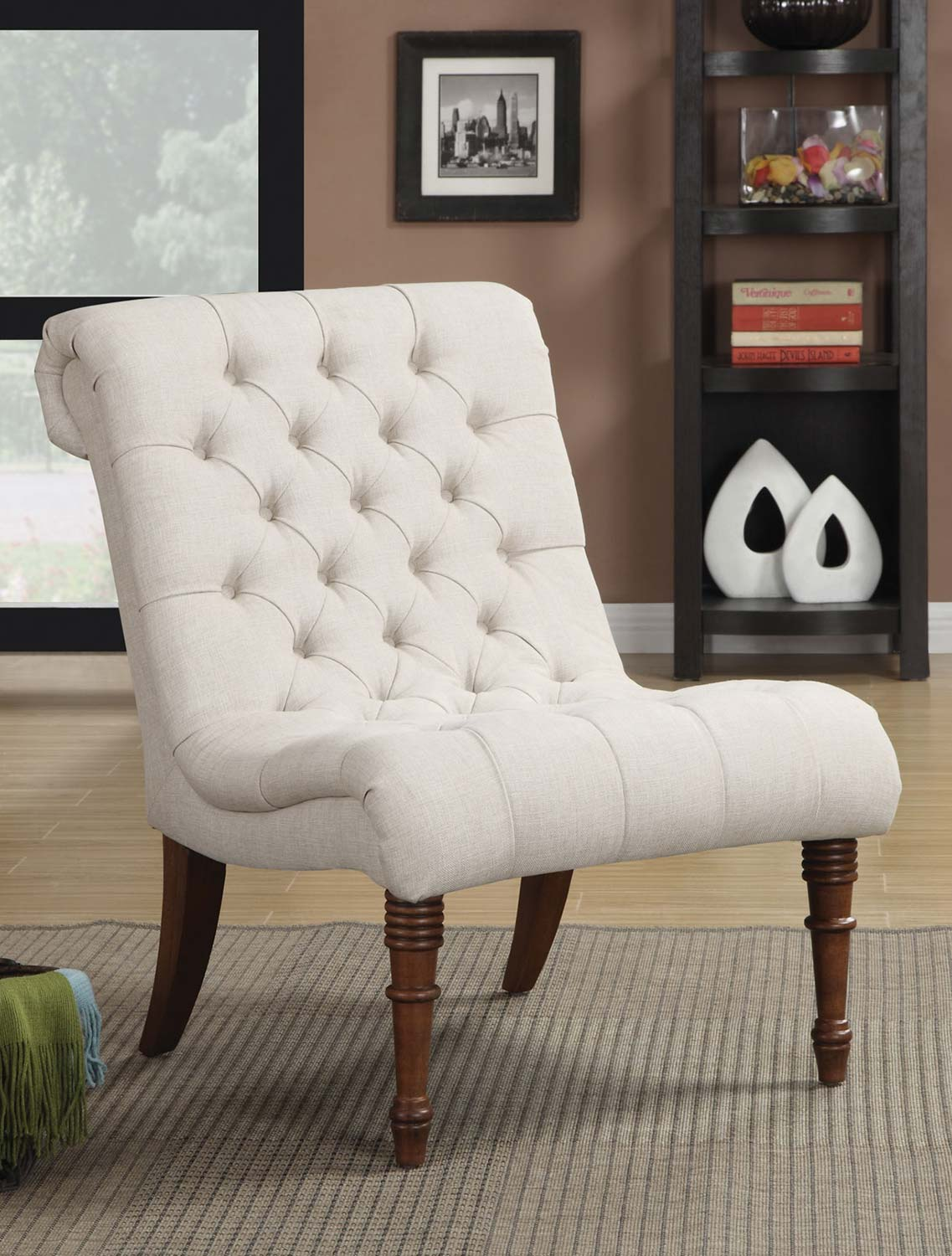 Coaster 902176 Accent Chair - Oatmeal