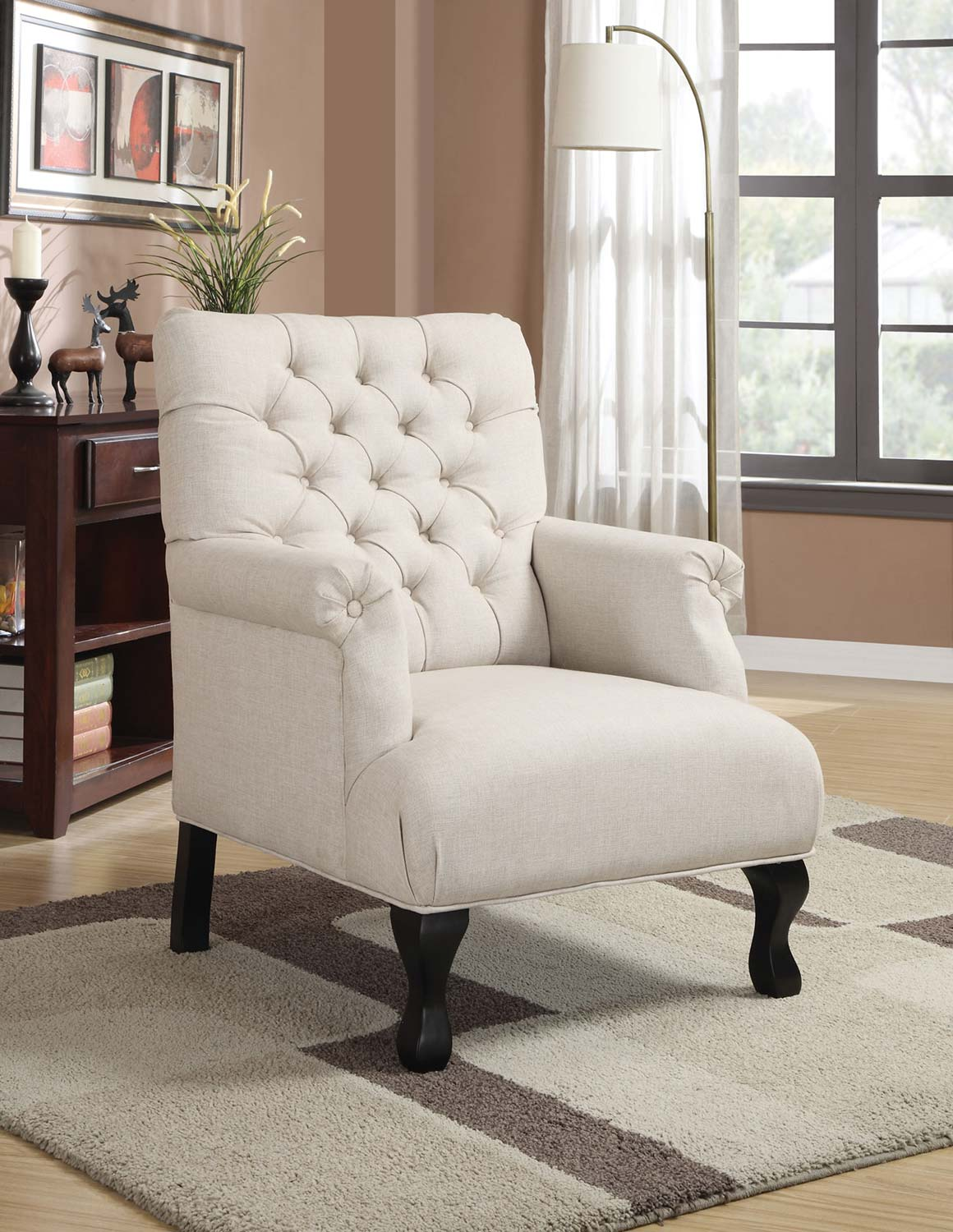 Coaster 902177 Accent Chair - Oatmeal