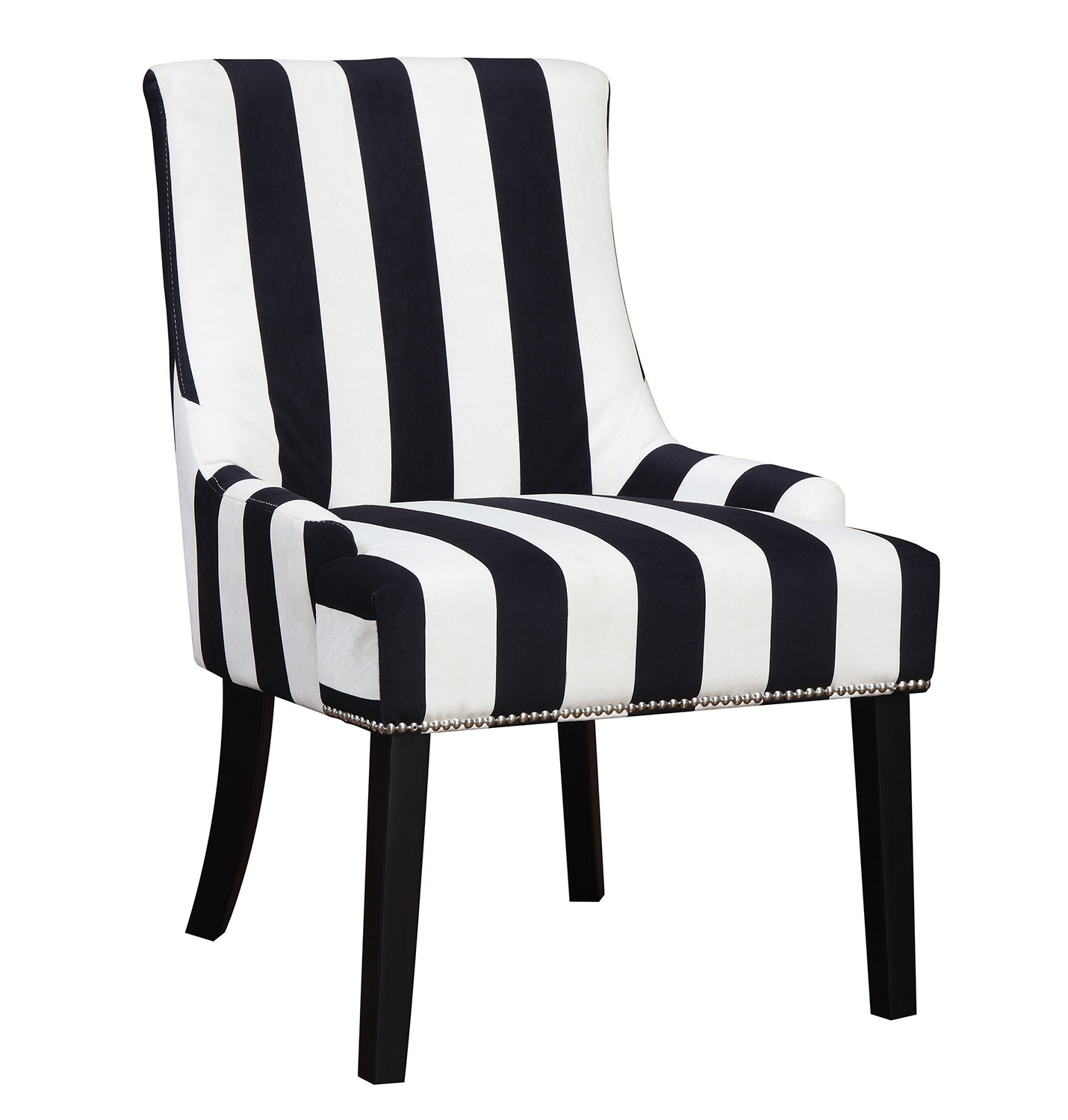 Coaster 902188 Accent Chair - Navy/White