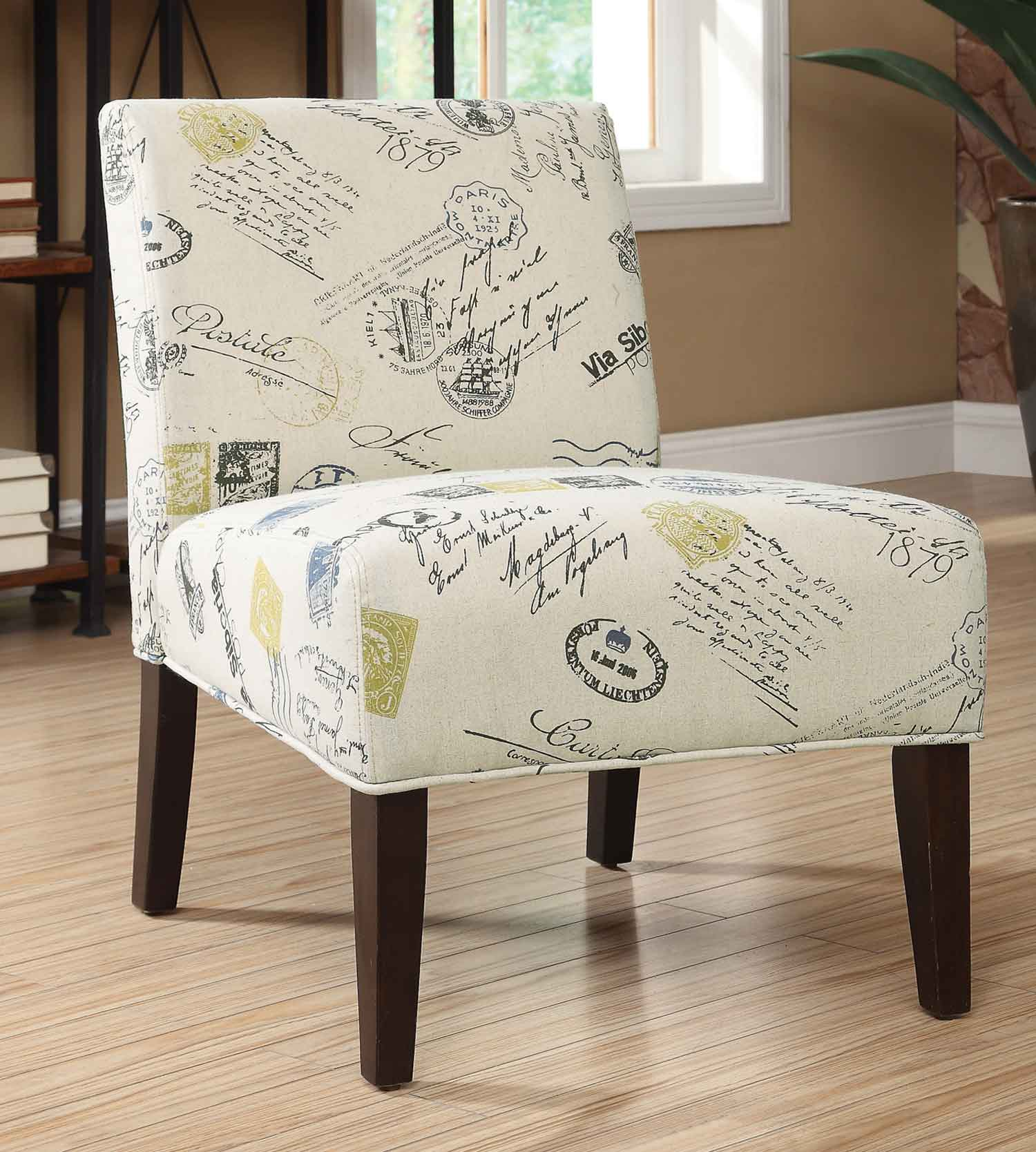 Coaster 902195 Accent Chair - Signature/Stamp Pattern