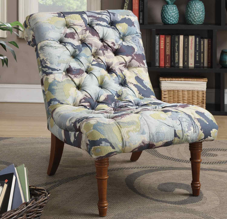 Coaster 902219 Accent Chair - Multi-Color Watercolor