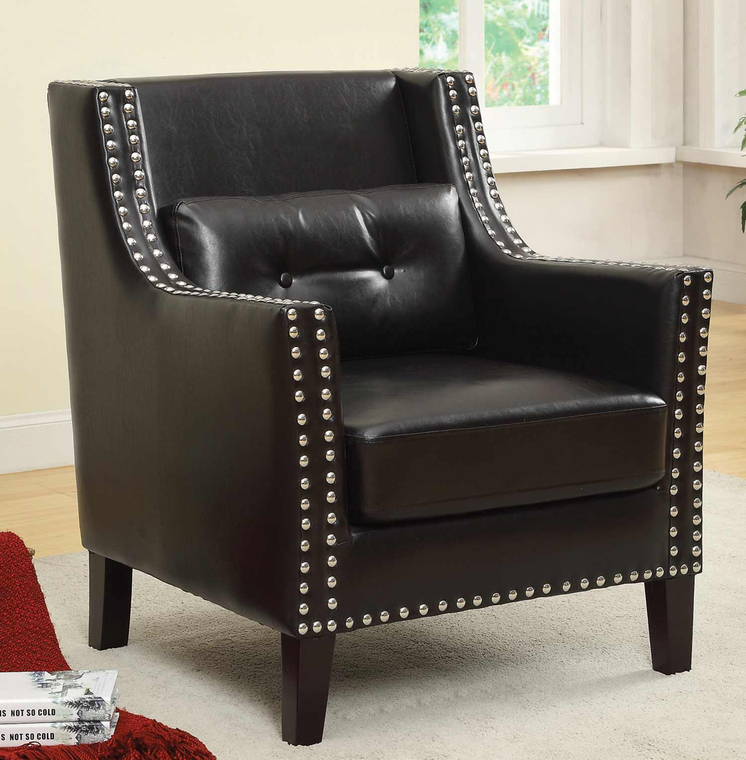 Coaster 902224 Accent Chair - Black