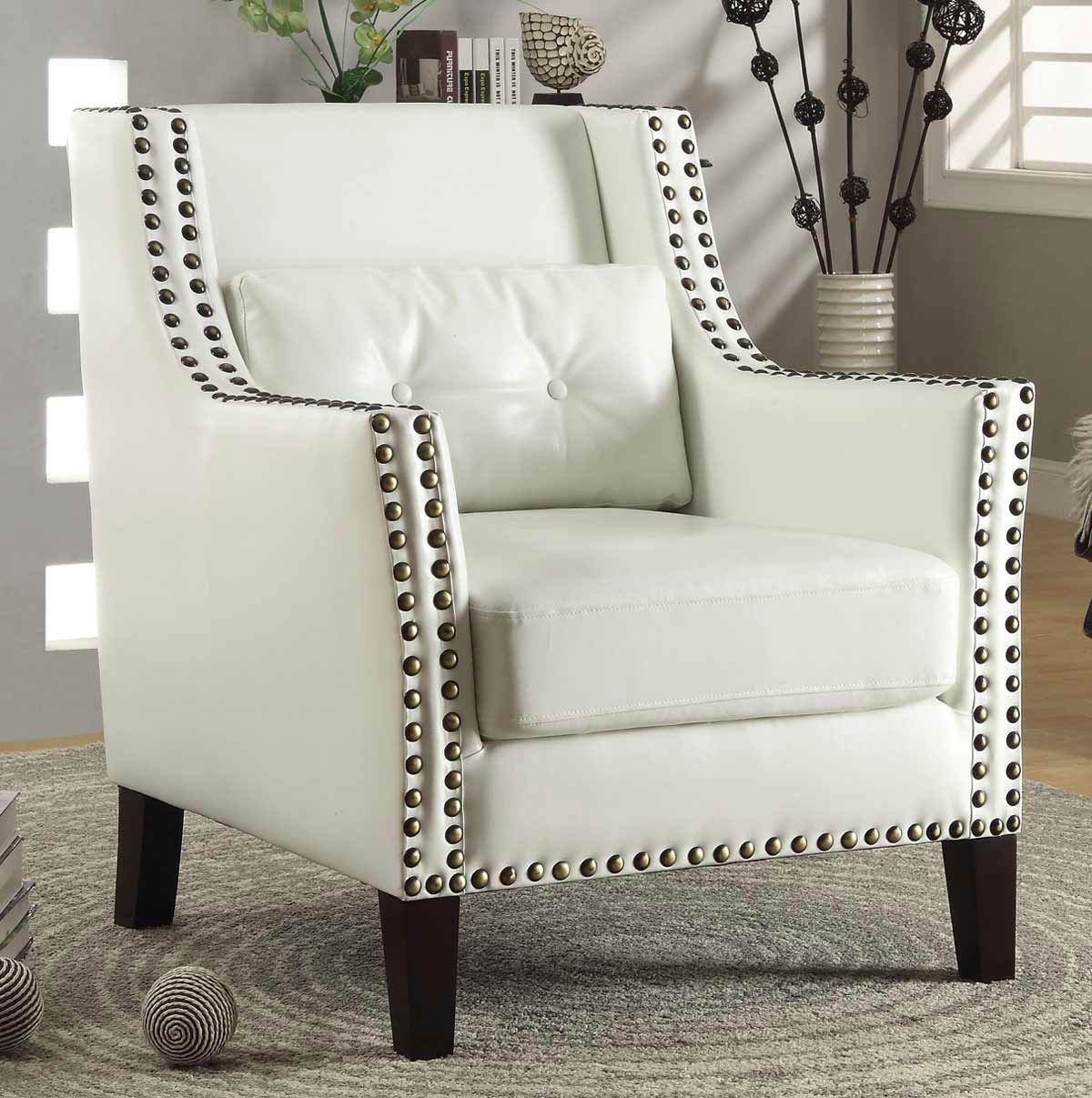 Coaster 902225 Accent Chair - White