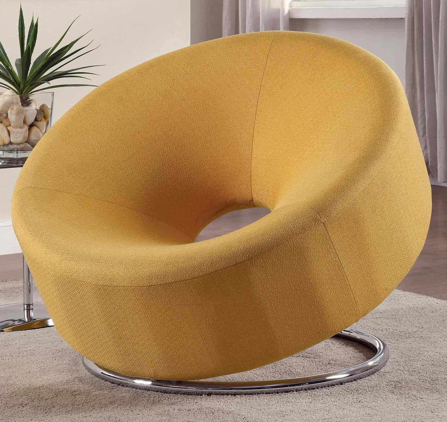 Coaster 902251 Accent Chair - Yellow