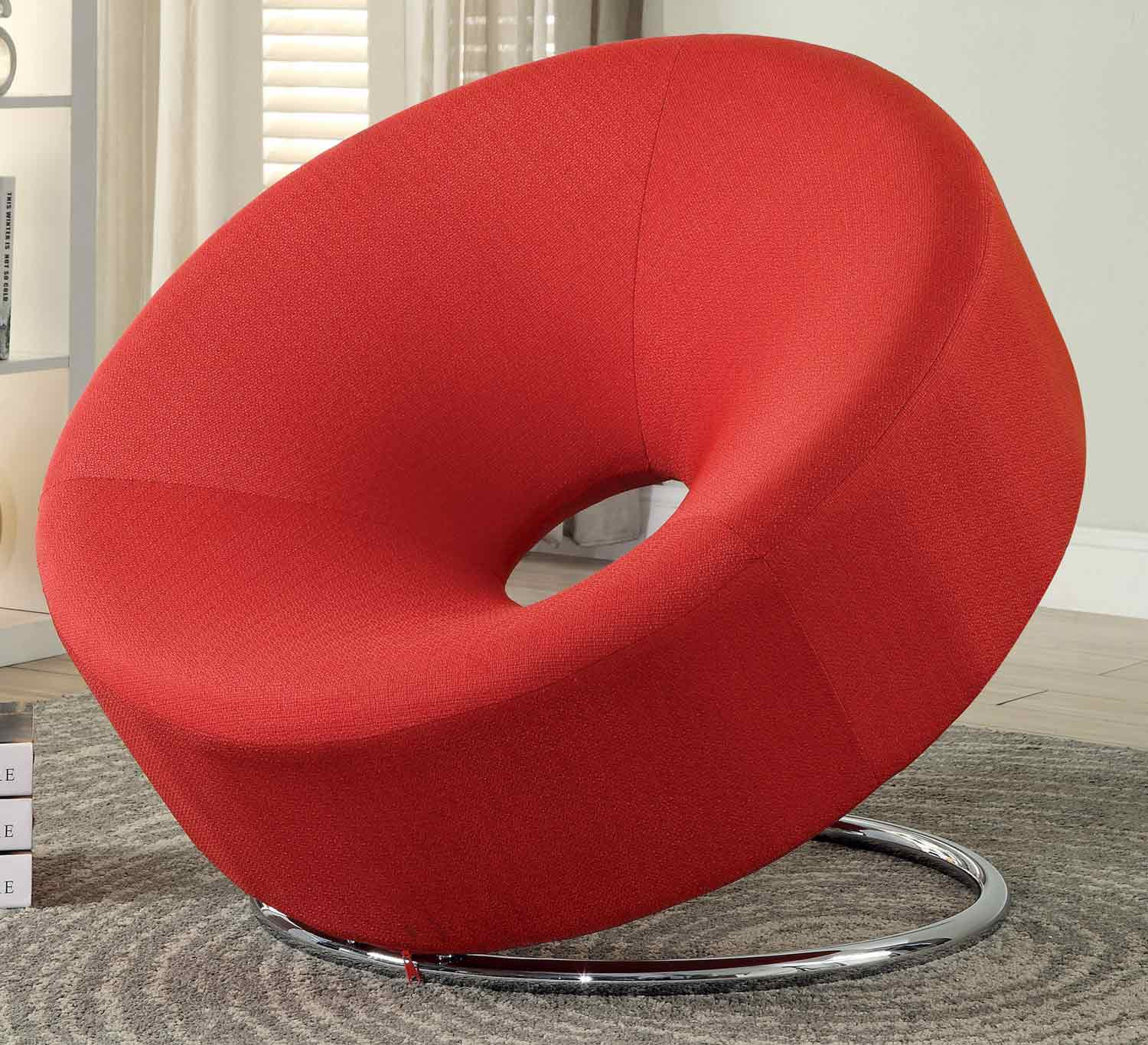 Coaster 902252 Accent Chair - Red