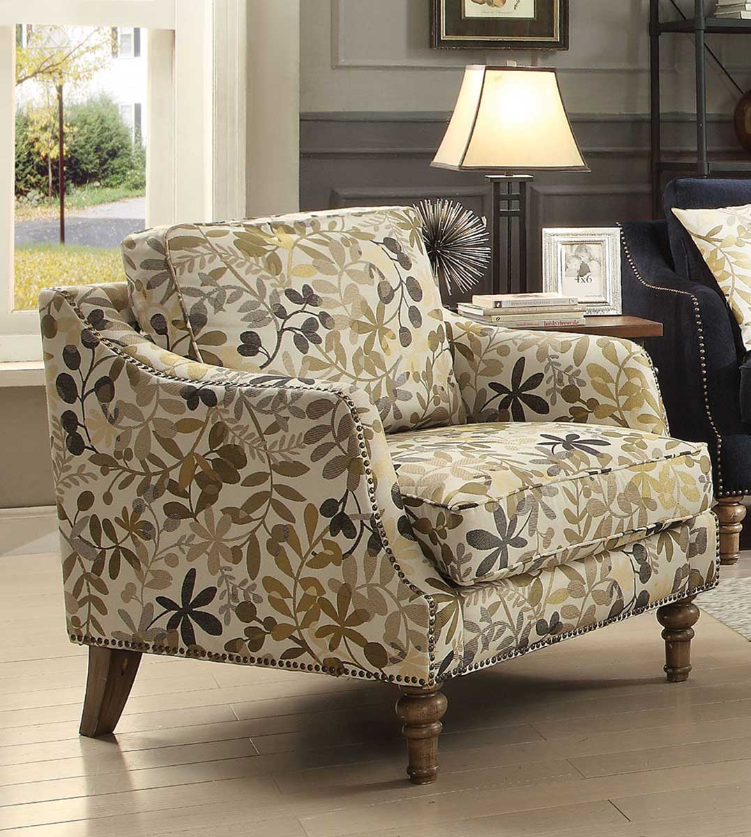 Coaster Vessot Accent chair - Ink Blue