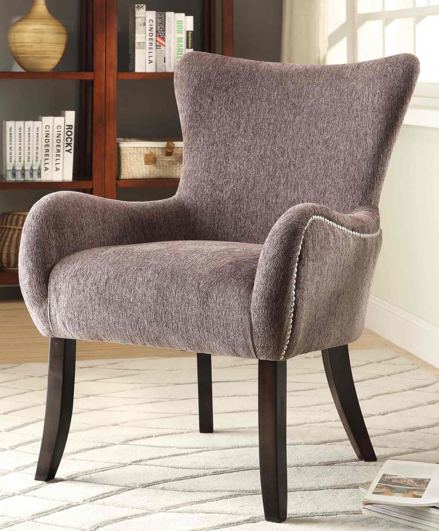 Coaster 902504 Accent Chair - Grey