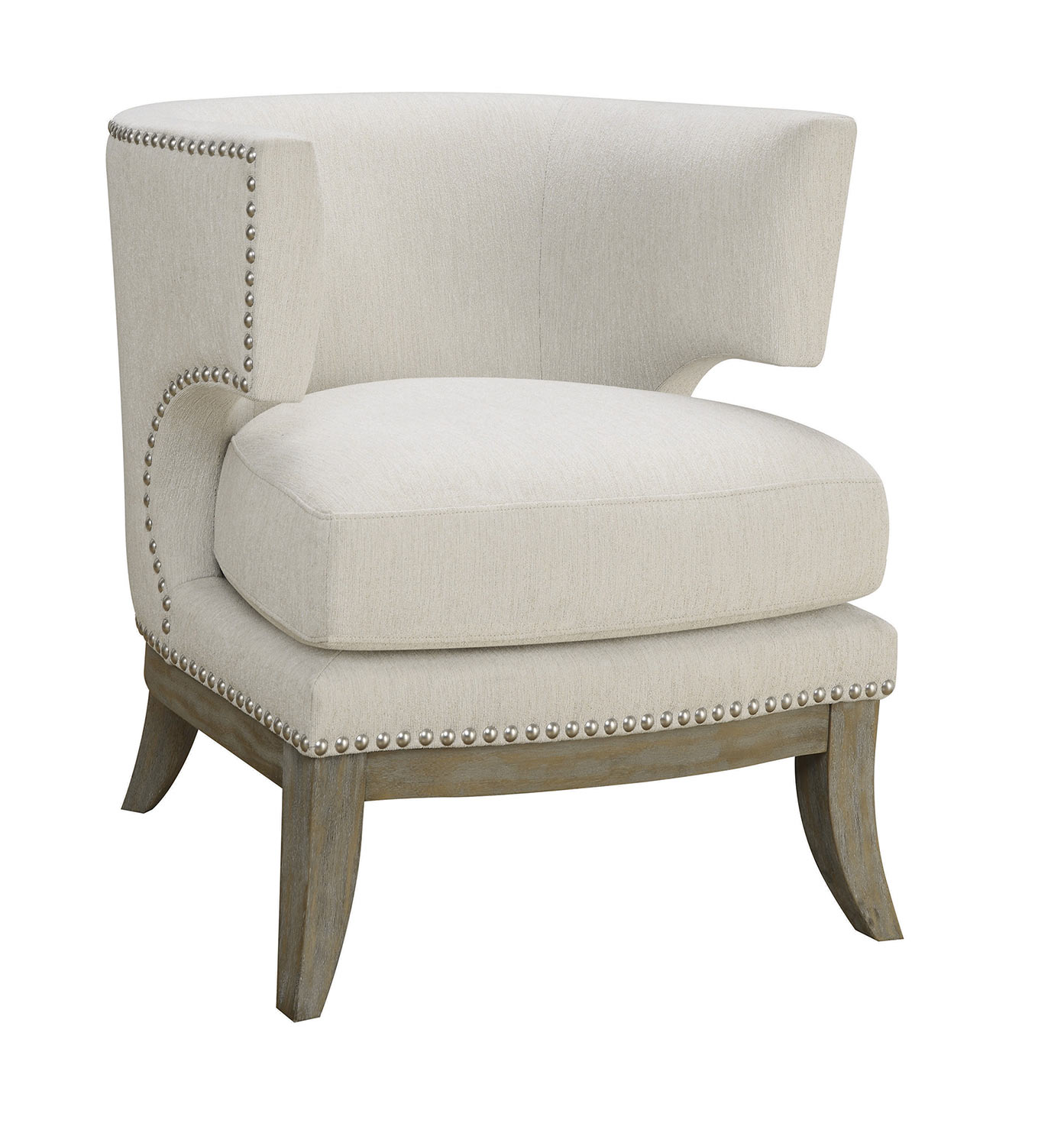Coaster 902559 Accent Chair - White