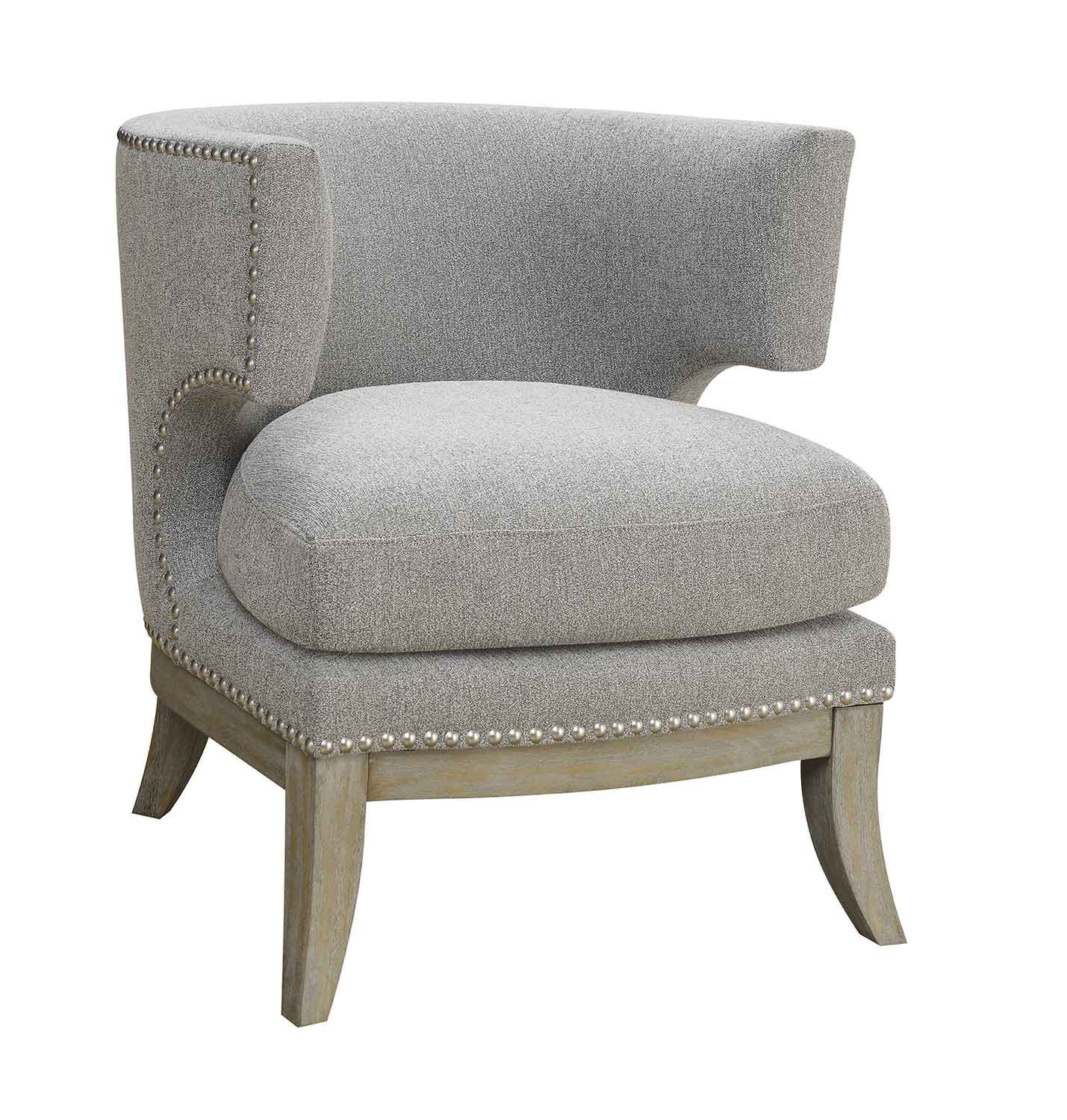 Coaster 902560 Accent Chair - Grey